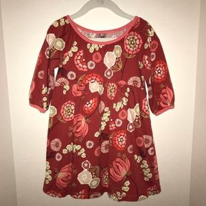 Tea Collection cotton dress in fall colors